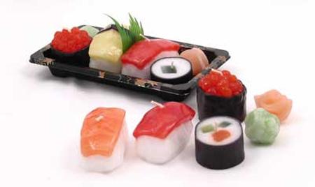 Sushi Candles