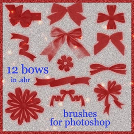 Bows Photoshop Brushes