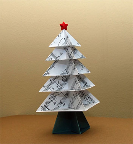 Unusual and creative christmas trees Creative christmas trees to make