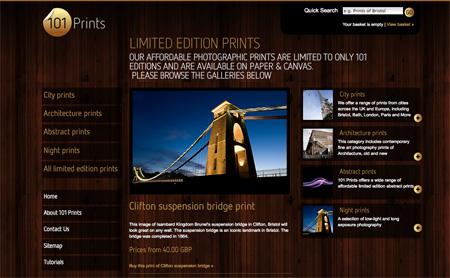 Beautiful Dark CSS Website Designs