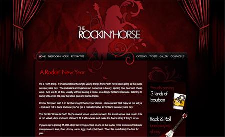 Beautiful Dark CSS Website Designs 16