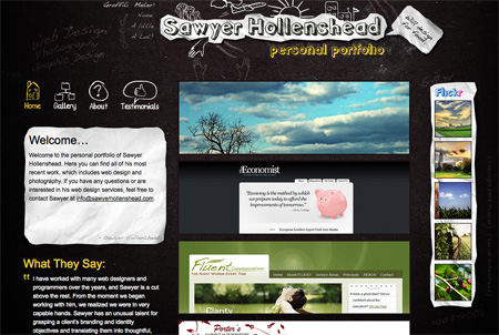 Beautiful Dark CSS Website Designs 17