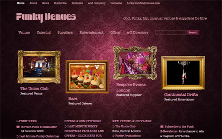 Beautiful Dark CSS Website Designs 18