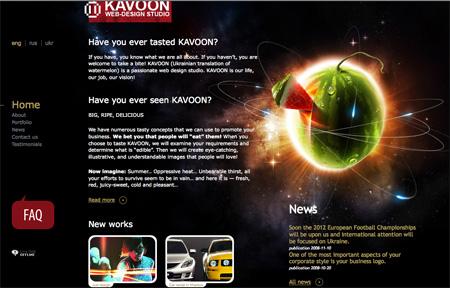 Beautiful Dark CSS Website Designs 02