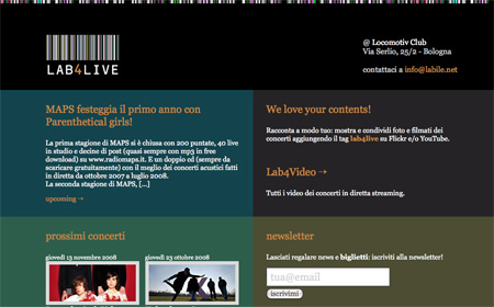 Beautiful Dark CSS Website Designs 20