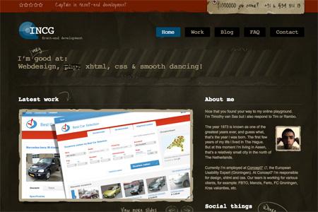 Beautiful Dark CSS Website Designs 21