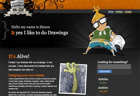 Beautiful Dark CSS Website Designs 22