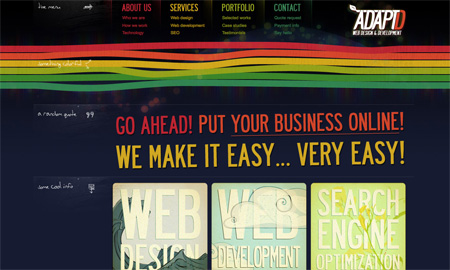 Beautiful Dark CSS Website Designs 24