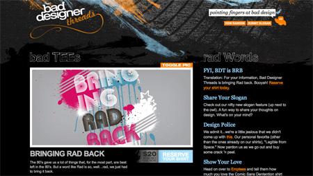 Beautiful Dark CSS Website Designs 25
