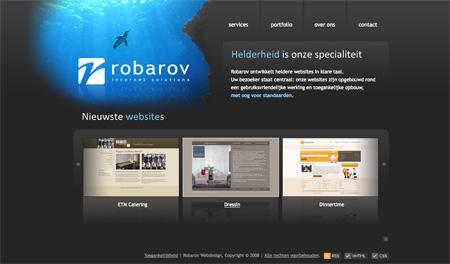 Beautiful Dark CSS Website Designs 27