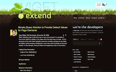 Beautiful Dark CSS Website Designs 03