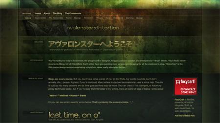 Beautiful Dark CSS Website Designs 30