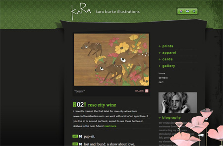 Beautiful Dark CSS Website Designs 31