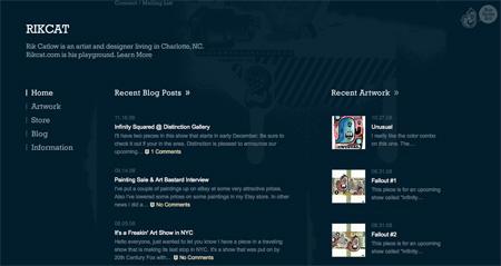 Beautiful Dark CSS Website Designs 32
