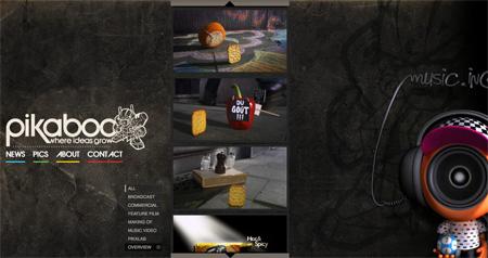 Beautiful Dark CSS Website Designs 33