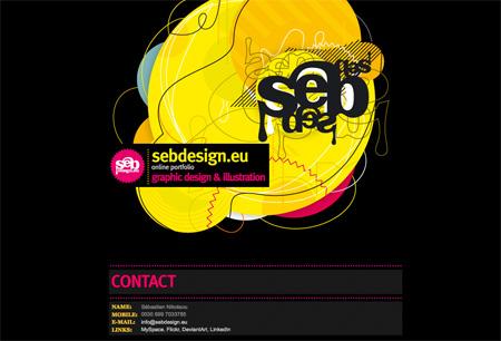 Beautiful Dark CSS Website Designs 34