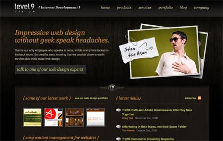 Beautiful Dark CSS Website Designs 35