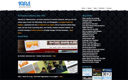 Beautiful Dark CSS Website Designs 37