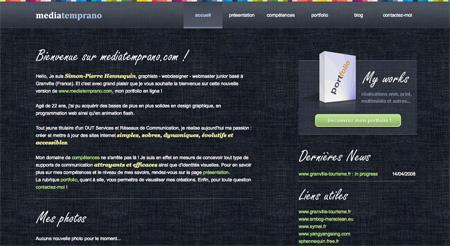 Beautiful Dark CSS Website Designs 39