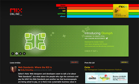 Beautiful Dark CSS Website Designs 04