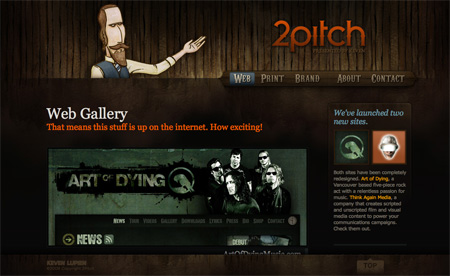 Beautiful Dark CSS Website Designs 05
