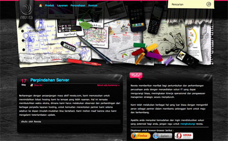 Beautiful Dark CSS Website Designs 06