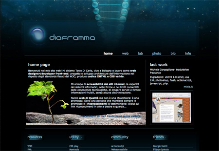 Beautiful Dark CSS Website Designs 07