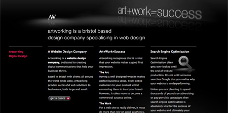 40 Beautiful Dark CSS Website Designs