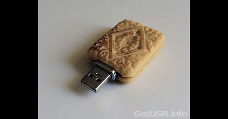 Edible Biscuit USB Flash Drives