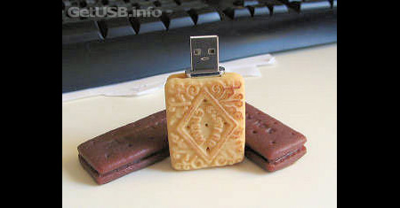 Edible Biscuit USB Flash Drives 3