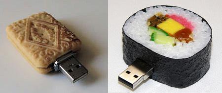 Realistic Food Shaped USB Flash Drives