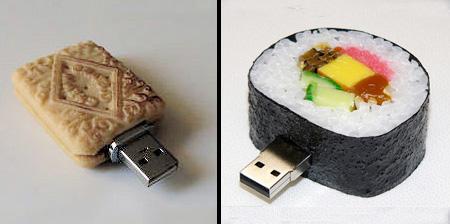 Food Shaped USB Flash Drives