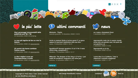 Beautiful and Creative Website Footers 01