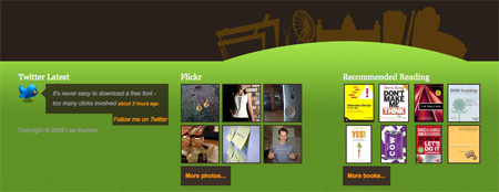 Beautiful and Creative Website Footers 18