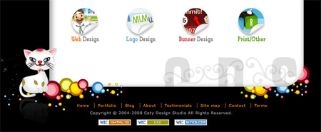 Beautiful and Creative Website Footers 20