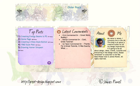 Beautiful and Creative Website Footers 23