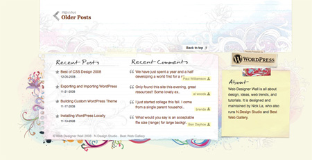 Beautiful and Creative Website Footers 03