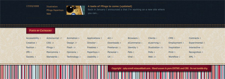 Beautiful and Creative Website Footers 30