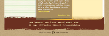 Beautiful and Creative Website Footers 31