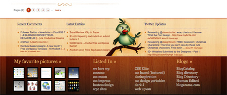Beautiful and Creative Website Footers 33