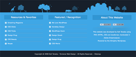 Beautiful and Creative Website Footers 40
