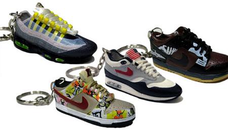 Nike Sneaker Keychains