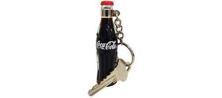 Coca-Cola Filled Bottle Key Chain