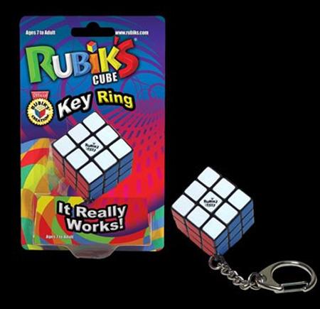 Rubiks Cube Keychain