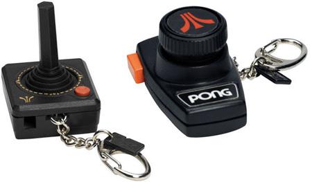 Atari Keychains