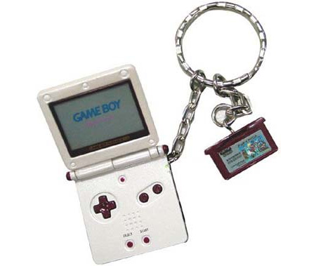 Gameboy Advance SP Keychain