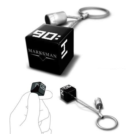 Pocket Watch Keychain