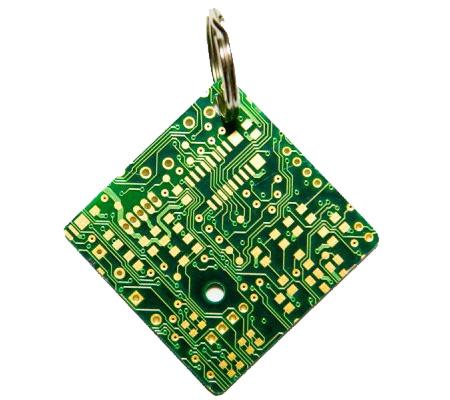 Circuitboard Keychain