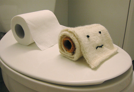 Knitted Toilet Paper