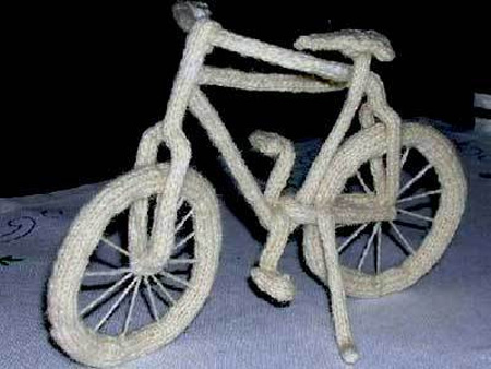 Knitted Bicycle